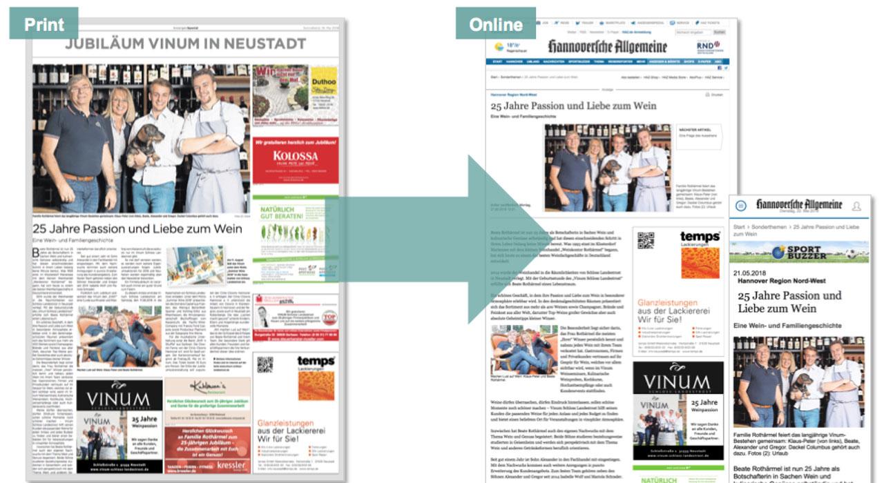 Digitalisierung am Beispiel eines Kollektivs der Hannoverschen Allgemeinen Zeitung HAZ (Madsack)